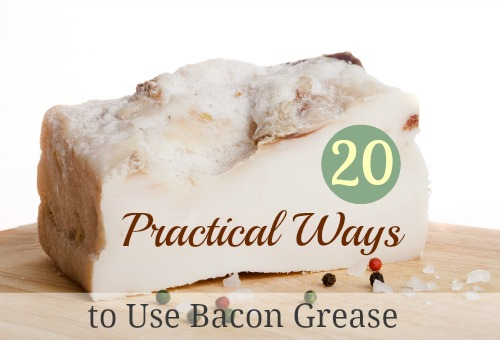 20 Practical Ways to Use Bacon Grease