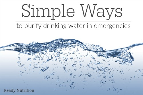 Simple Ways to Purify Drinking Water in Emergencies