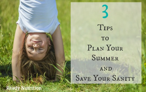 plan your summer and save your sanity