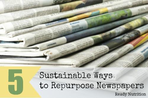 newspaper sustainable