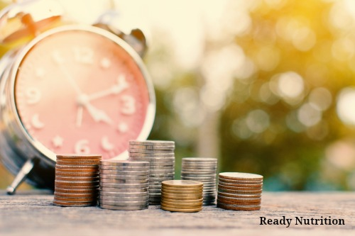 """With a little """"outside of the box"""" thinking, you can acquire prepper items like food, tools, shelter, first aid and weaponry for pennies on the dollar. #ReadyNutrition"""