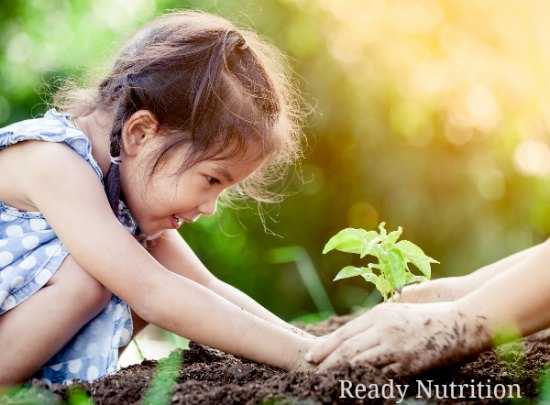 Vegetable Consumption Increases When Children Learn To Garden