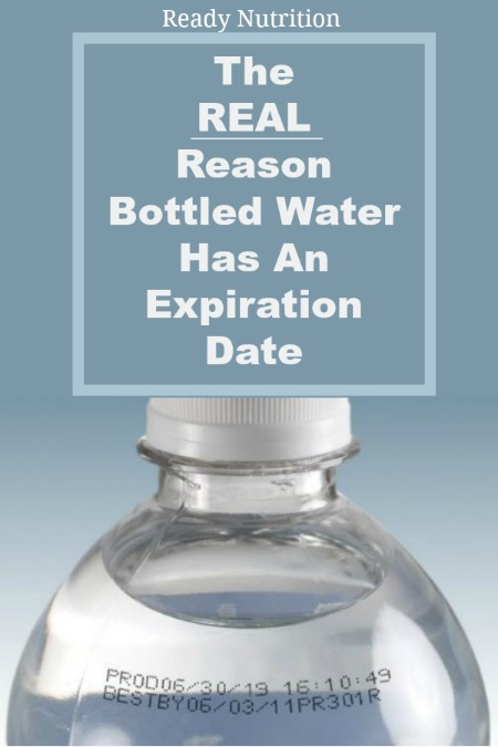 There's a reason why water bottles have expiration dates and it's important for you to know.
