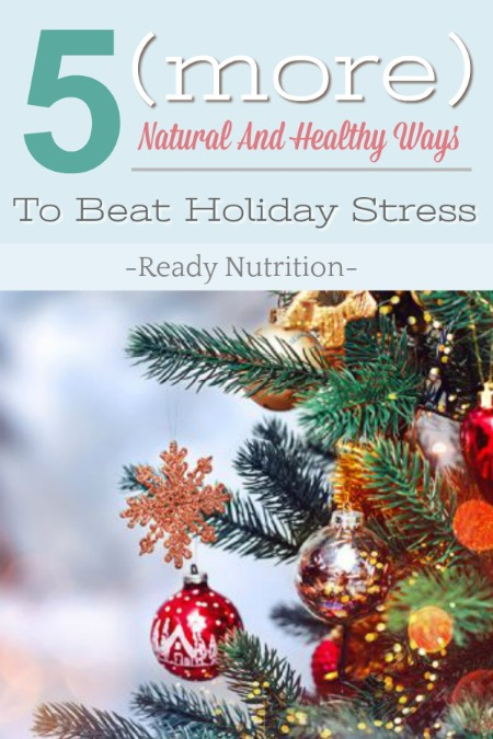 After experiencing the hustle and bustle of the holiday season year after year, many of the best of get burned out, stressed out, and out wallets get wiped out. But this year, we've compiled a handy list of some healthy and natural way to de-stress this snowy holiday season.