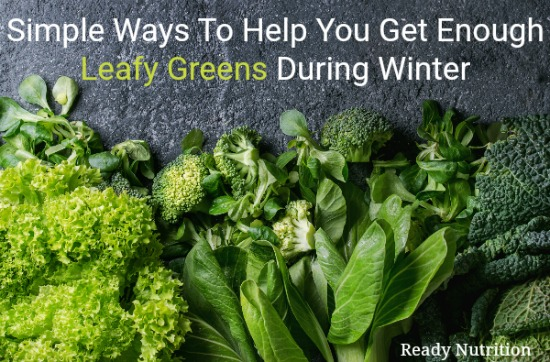 Getting your daily dose of greens seems difficult for most people on a sunny day in the summer when they have those vegetable readily available. But come winter time, some all but stop eating those nutritious veggies that help keep the body running in tip-topcondition. Because of that, we've come up with this helpful guide to show you how easy it is to still get your veggies in even when that blizzard rolls through! #ReadyNutrition #HealthyLiving