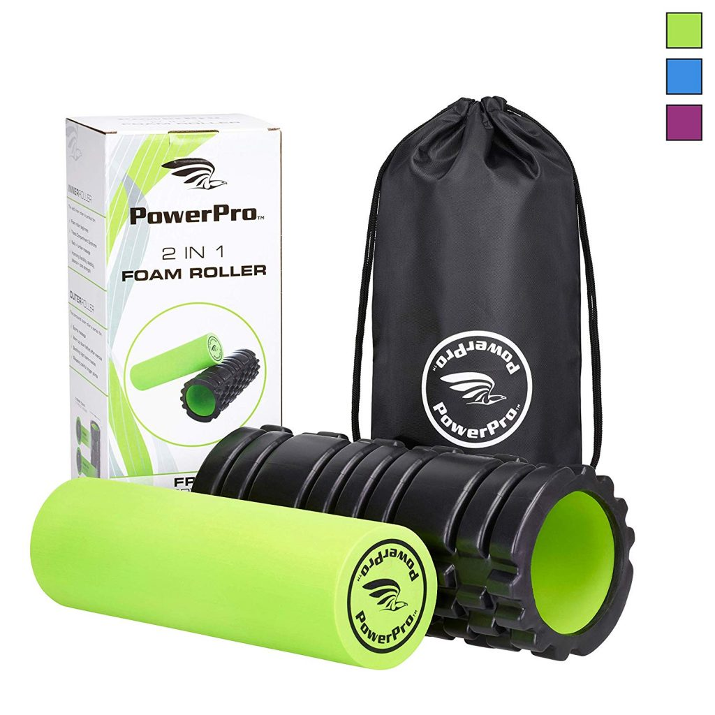 Looking for the perfect holiday gift for your health conscious relative? Check out this 2 in 1 foam roller!